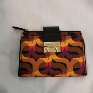 Vera Bradley new push lock wallet